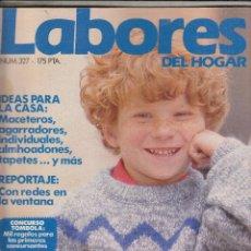 Coleccionismo de Revistas y Periódicos: REVISTA LABORES DEL HOGAR Nº 327. A PUNTO PARE EL COLE MAS DE 35 MODELOS INFANTILES. . Lote 115587751