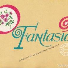 Coleccionismo de Revistas y Periódicos: FASCICULO FANTASIAS. EN MANTELERIAS Y JUEGOS DE CAMA A PUNTO CRUZ. . Lote 115588183