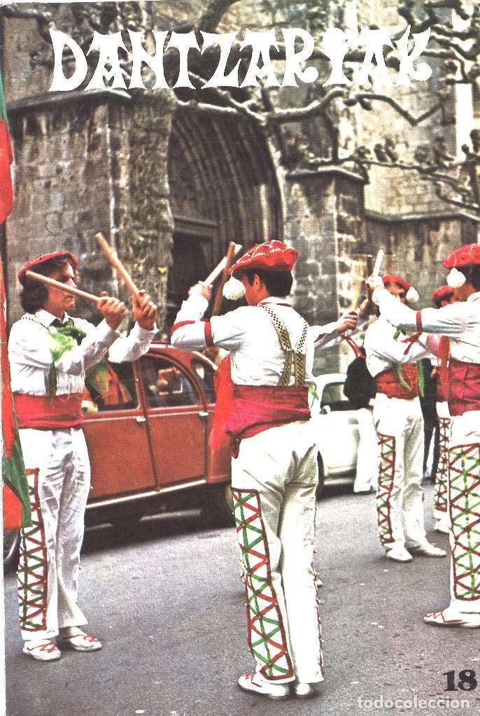 DANTZARIAK. 18. JULIO 1981 (Coleccionismo - Revistas y Periódicos Modernos (a partir de 1.940) - Otros)