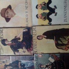 Collectionnisme de Revues et Journaux: REVISTA BLANCO Y NEGROS AÑOS 1922 1928. Lote 115595015