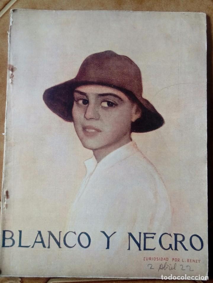Coleccionismo de Revistas y Periódicos: Revista blanco y negros años 1922 1928 - Foto 2 - 115595015