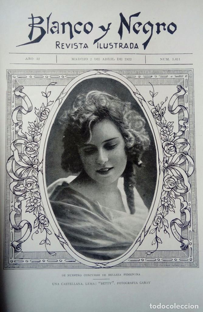 Coleccionismo de Revistas y Periódicos: Revista blanco y negros años 1922 1928 - Foto 4 - 115595015