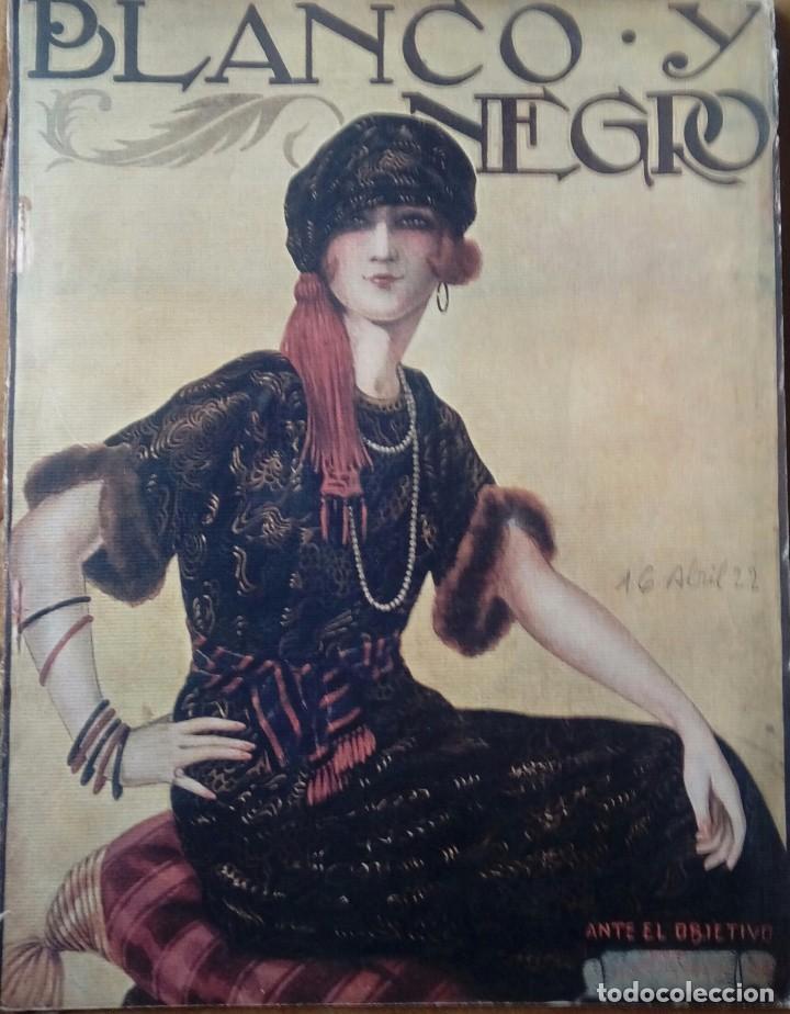 Coleccionismo de Revistas y Periódicos: Revista blanco y negros años 1922 1928 - Foto 5 - 115595015