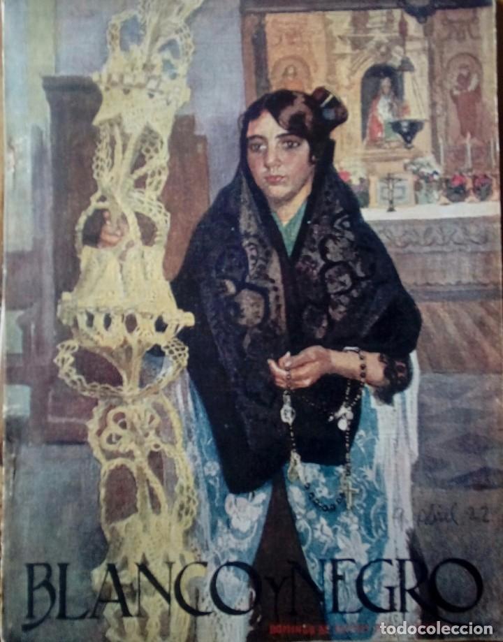Coleccionismo de Revistas y Periódicos: Revista blanco y negros años 1922 1928 - Foto 7 - 115595015