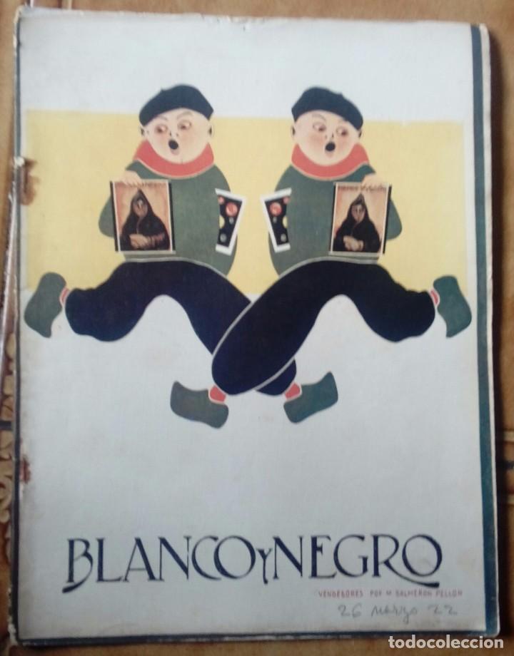 Coleccionismo de Revistas y Periódicos: Revista blanco y negros años 1922 1928 - Foto 9 - 115595015