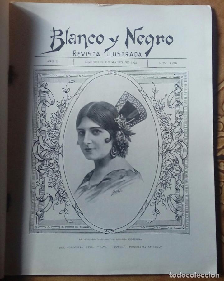 Coleccionismo de Revistas y Periódicos: Revista blanco y negros años 1922 1928 - Foto 11 - 115595015