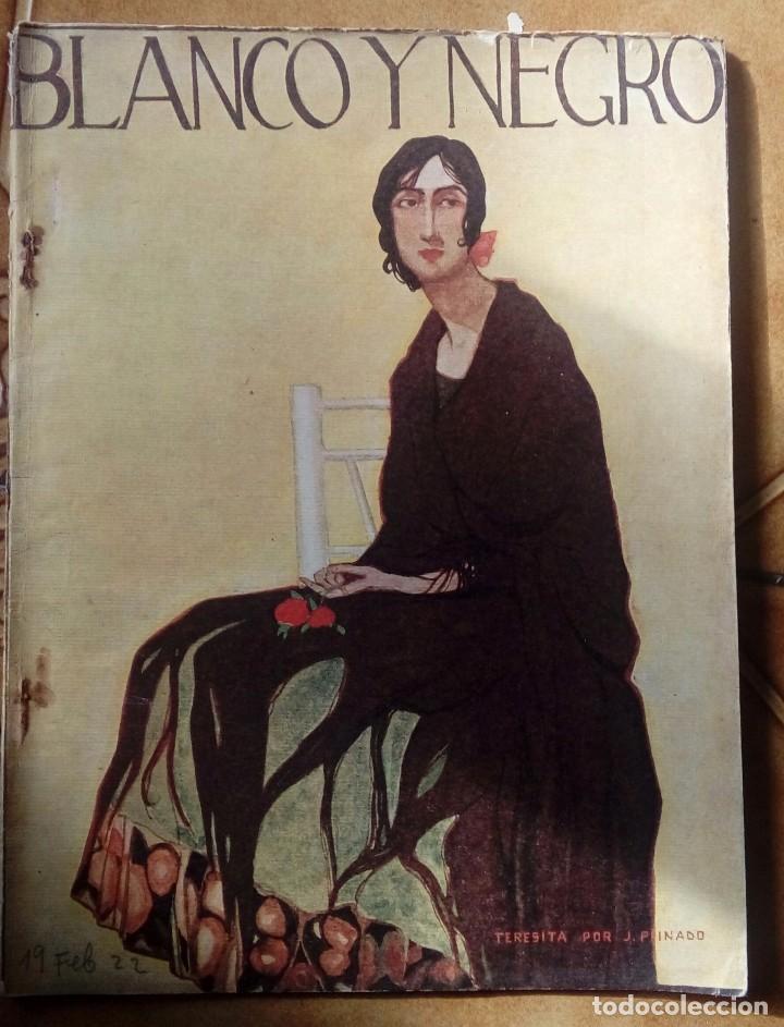 Coleccionismo de Revistas y Periódicos: Revista blanco y negros años 1922 1928 - Foto 12 - 115595015