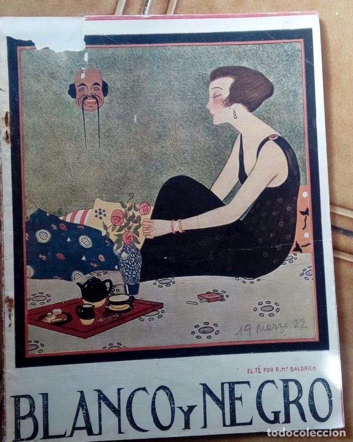 Coleccionismo de Revistas y Periódicos: Revista blanco y negros años 1922 1928 - Foto 14 - 115595015