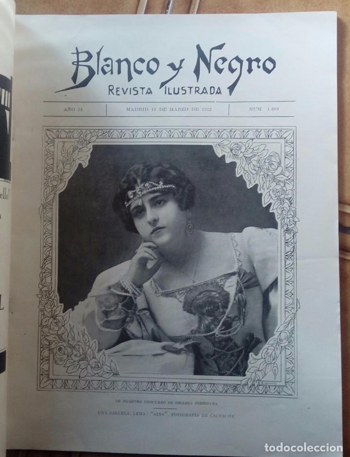 Coleccionismo de Revistas y Periódicos: Revista blanco y negros años 1922 1928 - Foto 15 - 115595015
