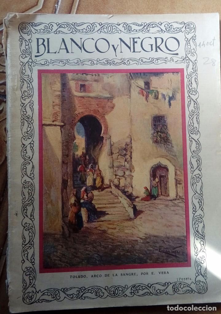 Coleccionismo de Revistas y Periódicos: Revista blanco y negros años 1922 1928 - Foto 17 - 115595015