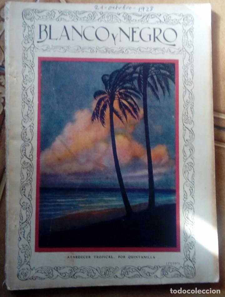 Coleccionismo de Revistas y Periódicos: Revista blanco y negros años 1922 1928 - Foto 19 - 115595015