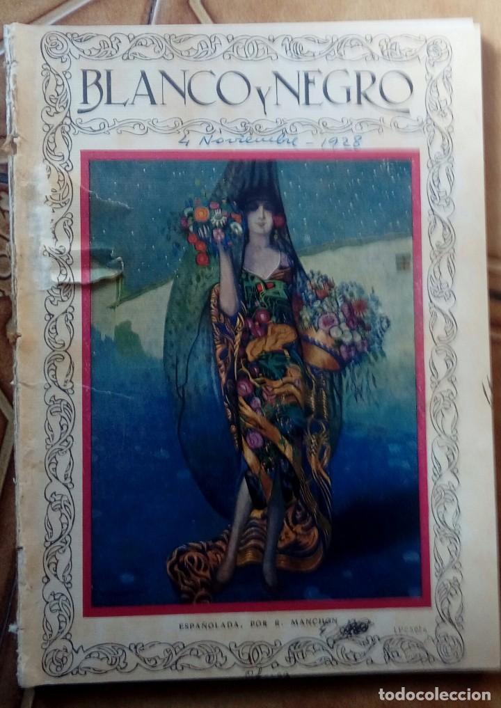 Coleccionismo de Revistas y Periódicos: Revista blanco y negros años 1922 1928 - Foto 23 - 115595015