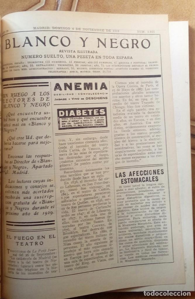 Coleccionismo de Revistas y Periódicos: Revista blanco y negros años 1922 1928 - Foto 24 - 115595015