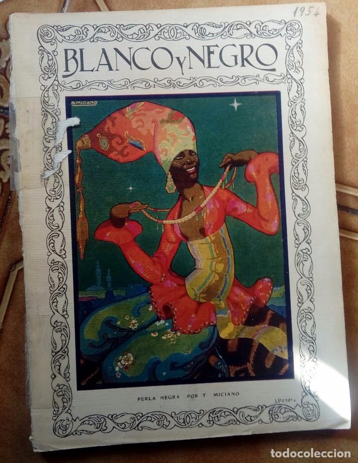 Coleccionismo de Revistas y Periódicos: Revista blanco y negros años 1922 1928 - Foto 26 - 115595015