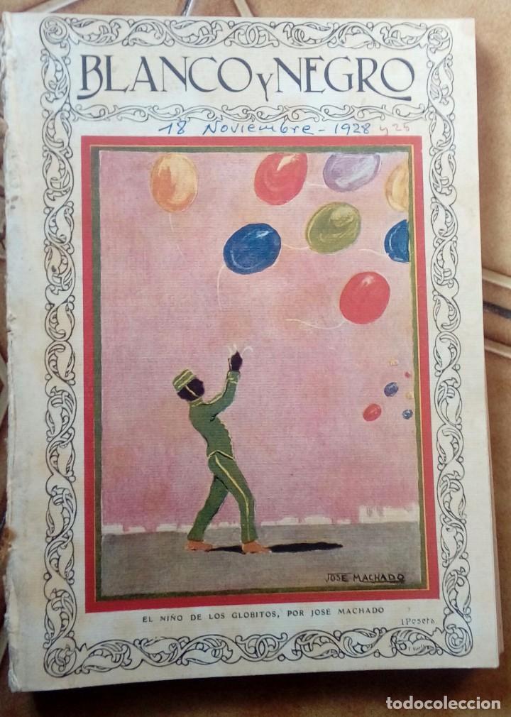Coleccionismo de Revistas y Periódicos: Revista blanco y negros años 1922 1928 - Foto 30 - 115595015