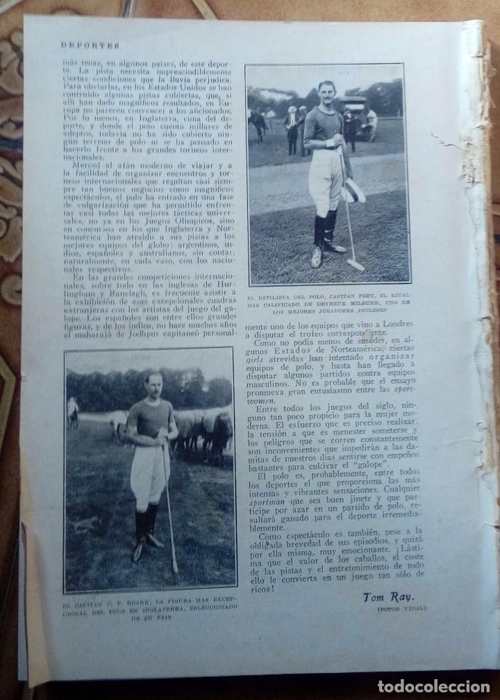 Coleccionismo de Revistas y Periódicos: Revista blanco y negros años 1922 1928 - Foto 31 - 115595015