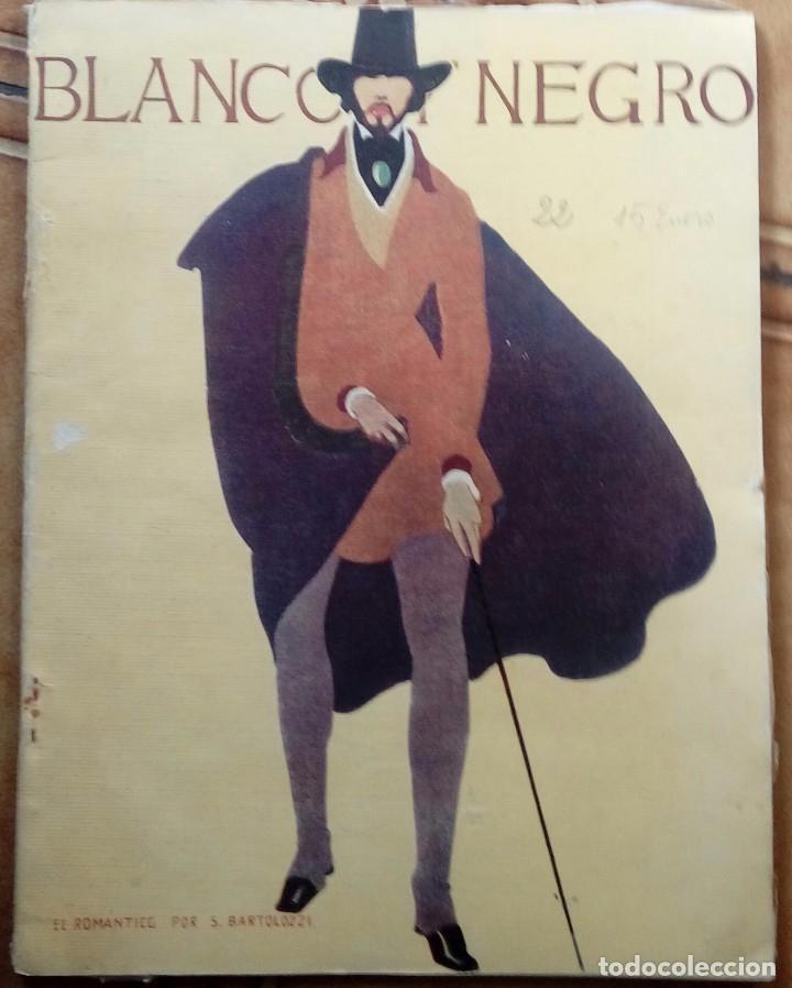 Coleccionismo de Revistas y Periódicos: Revista blanco y negros años 1922 1928 - Foto 32 - 115595015
