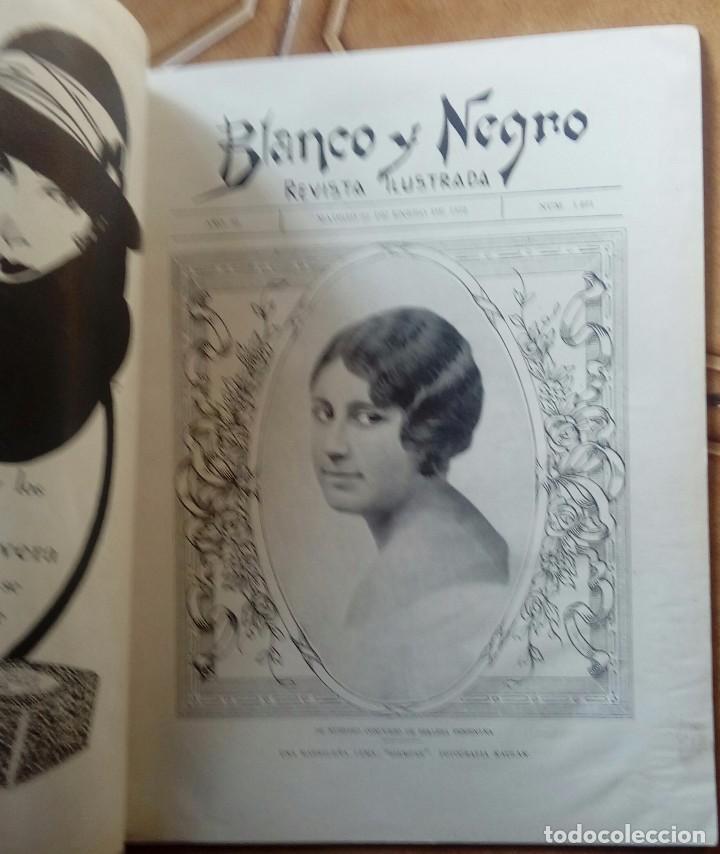 Coleccionismo de Revistas y Periódicos: Revista blanco y negros años 1922 1928 - Foto 36 - 115595015