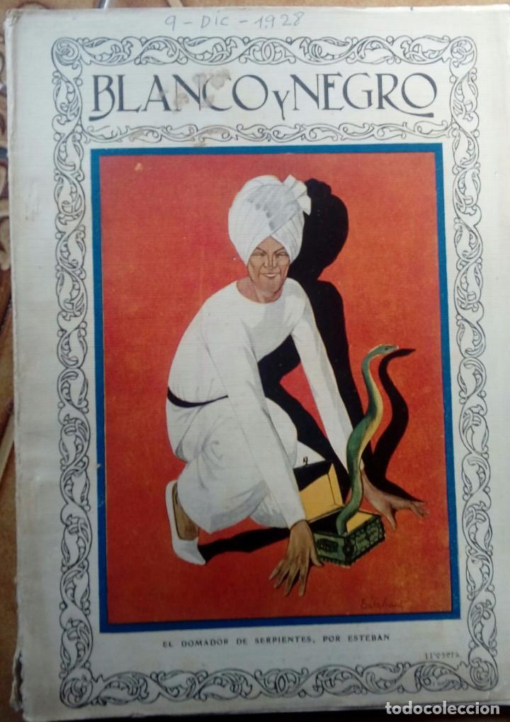 Coleccionismo de Revistas y Periódicos: Revista blanco y negros años 1922 1928 - Foto 37 - 115595015