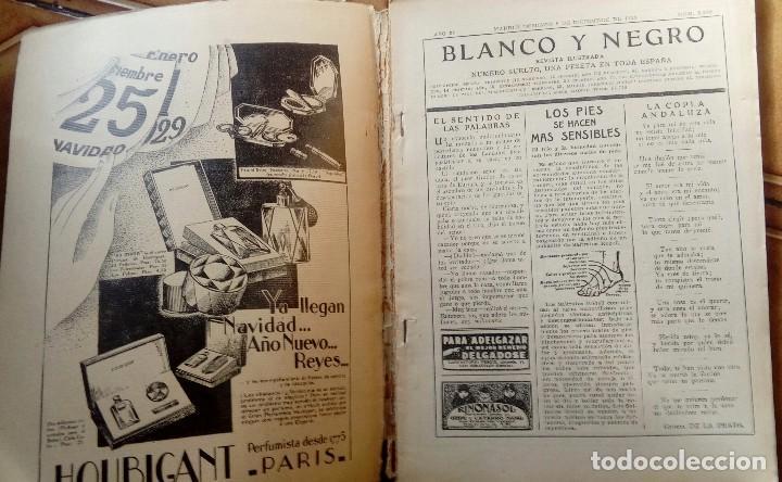 Coleccionismo de Revistas y Periódicos: Revista blanco y negros años 1922 1928 - Foto 38 - 115595015