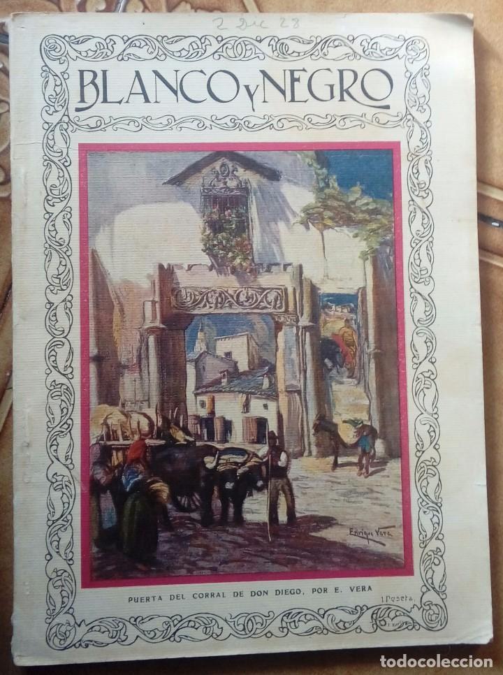 Coleccionismo de Revistas y Periódicos: Revista blanco y negros años 1922 1928 - Foto 40 - 115595015