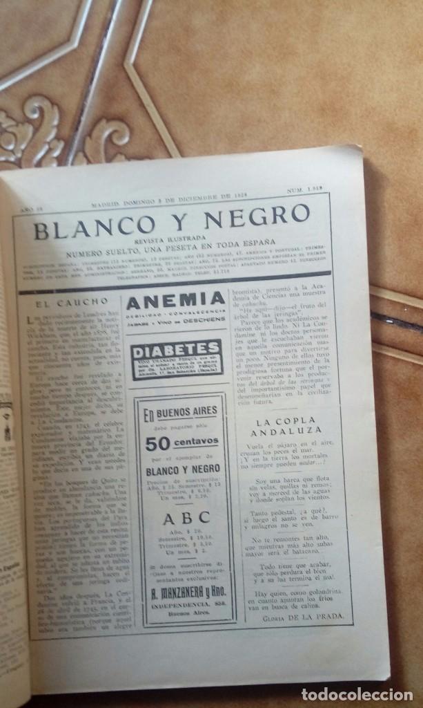 Coleccionismo de Revistas y Periódicos: Revista blanco y negros años 1922 1928 - Foto 41 - 115595015