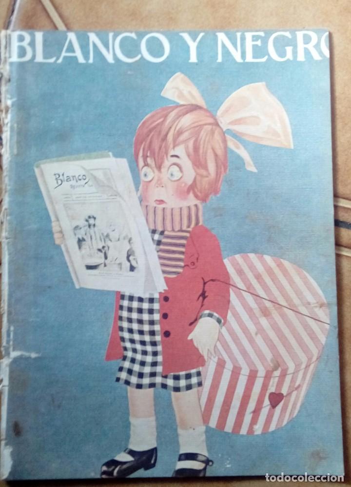 Coleccionismo de Revistas y Periódicos: Revista blanco y negros años 1922 1928 - Foto 43 - 115595015