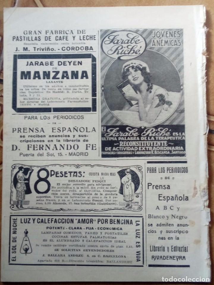 Coleccionismo de Revistas y Periódicos: Revista blanco y negros años 1922 1928 - Foto 44 - 115595015