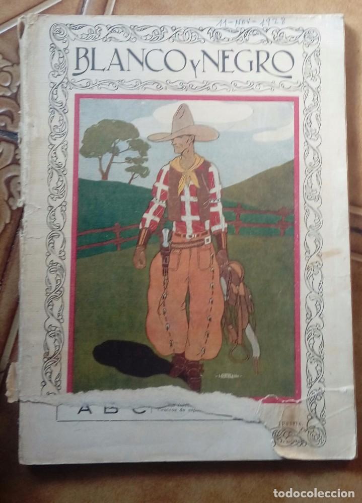 Coleccionismo de Revistas y Periódicos: Revista blanco y negros años 1922 1928 - Foto 50 - 115595015