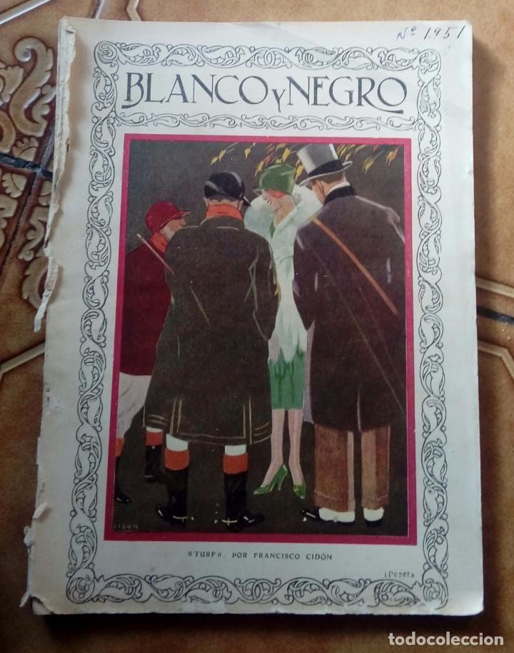 Coleccionismo de Revistas y Periódicos: Revista blanco y negros años 1922 1928 - Foto 53 - 115595015