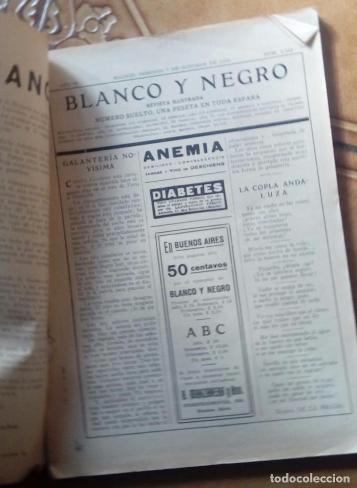 Coleccionismo de Revistas y Periódicos: Revista blanco y negros años 1922 1928 - Foto 55 - 115595015