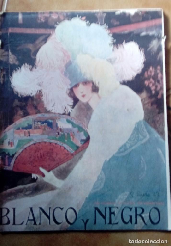 Coleccionismo de Revistas y Periódicos: Revista blanco y negros años 1922 1928 - Foto 56 - 115595015
