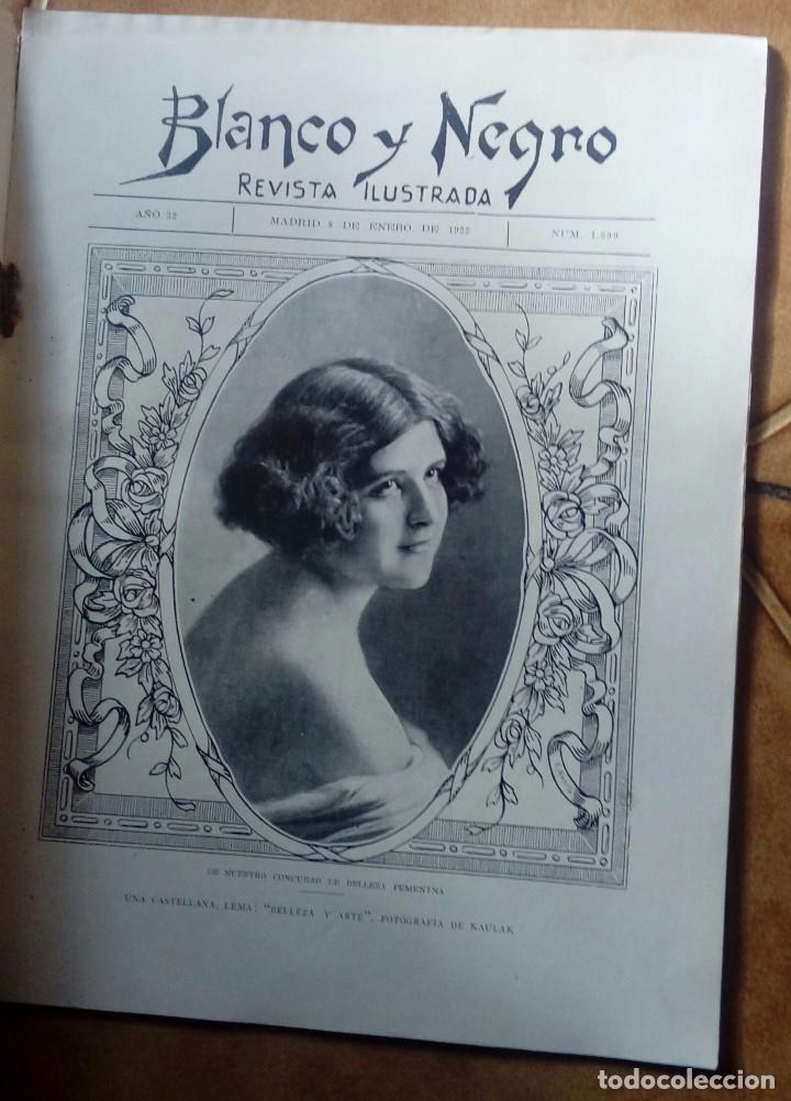 Coleccionismo de Revistas y Periódicos: Revista blanco y negros años 1922 1928 - Foto 57 - 115595015