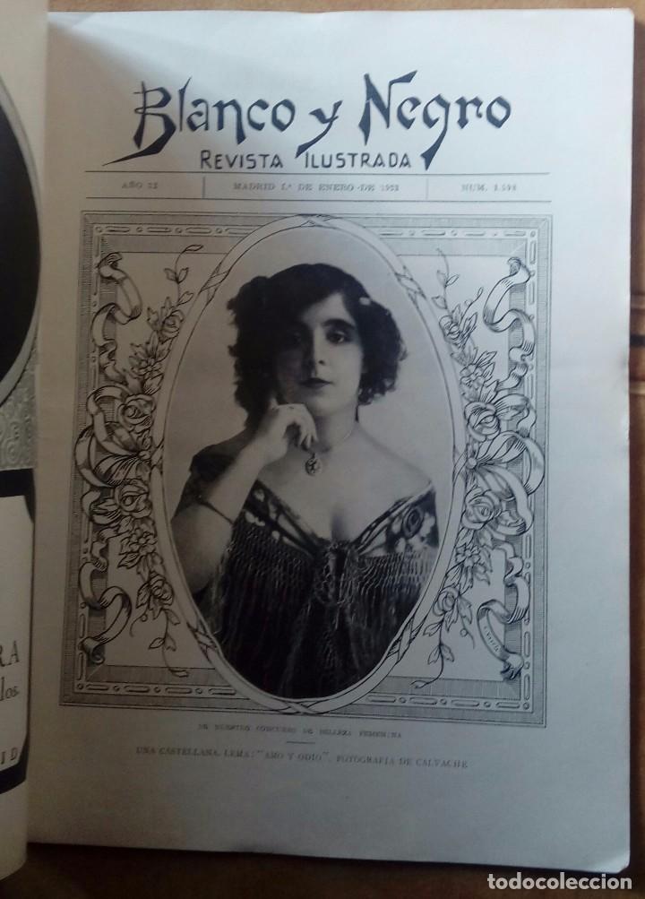 Coleccionismo de Revistas y Periódicos: Revista blanco y negros años 1922 1928 - Foto 60 - 115595015
