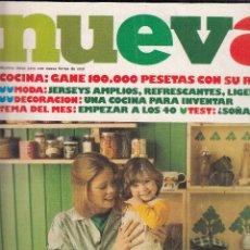 Coleccionismo de Revistas y Periódicos: REVISTA NUEVA Nº CONINA, MODA Y DECORACION.. Lote 115597927