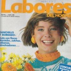 Coleccionismo de Revistas y Periódicos: REVISTA LABORES DEL HOGAR Nº 338. JERSEYS CON FLORES. . Lote 115599335