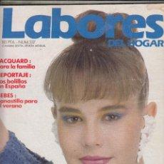 Coleccionismo de Revistas y Periódicos: REVISTA LABORES DEL HOGAR Nº 337. 50 JERSEYS PARA QUE ESCOJAS TU. LOS BOLILLOS DE ESPAÑA. . Lote 115599531