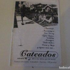 Coleccionismo de Revistas y Periódicos: FANZINE CATEADOS Nº 17 VERANO 1998 AUSTROHÚNGARO UNDERSHAKERS ASTROGIRLS TELEFILME FREE DESIGN. Lote 115621419