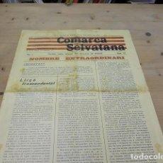 Coleccionismo de Revistas y Periódicos: 3340.- PREMSA CATALANA-COMARCA SELVATANA PERIODIC DEFENSOR DEL DISTRICTE-SANTA COLOMA DE FARNERS. Lote 115789235