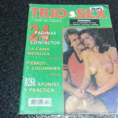 Coleccionismo de Revistas y Periódicos: TRIO SEX Nº 30 - REVISTA EROTICA DE LOS 90. Lote 115895351