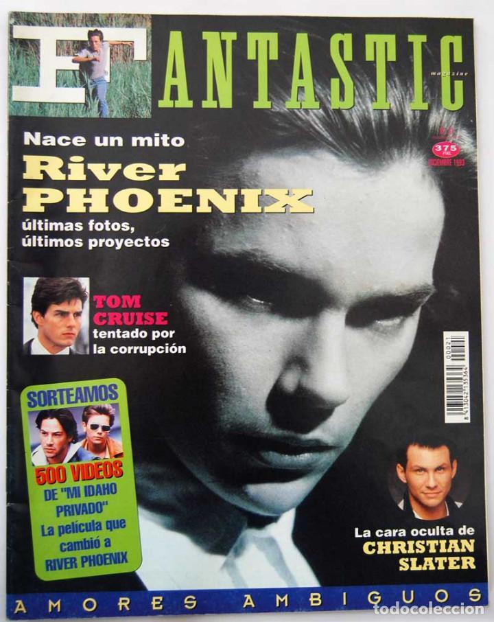 FANTASTIC MAGAZINE Nº 21. RIVER PHOENIX. TOM CRUISE (Coleccionismo - Revistas y Periódicos Modernos (a partir de 1.940) - Otros)