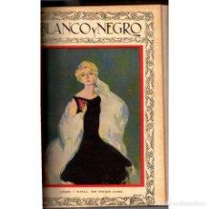 Coleccionismo de Revistas y Periódicos: BLANCO Y NEGRO. Nº 1924-1936 (ABRIL-JUNIO 1928). AÑO 38. Lote 115919463