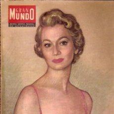 Coleccionismo de Revistas y Periódicos: REVISTA GRAFICA SEMANAL GRAN MUNDO Nº 113 16 JUNIO 1956. Lote 115954411