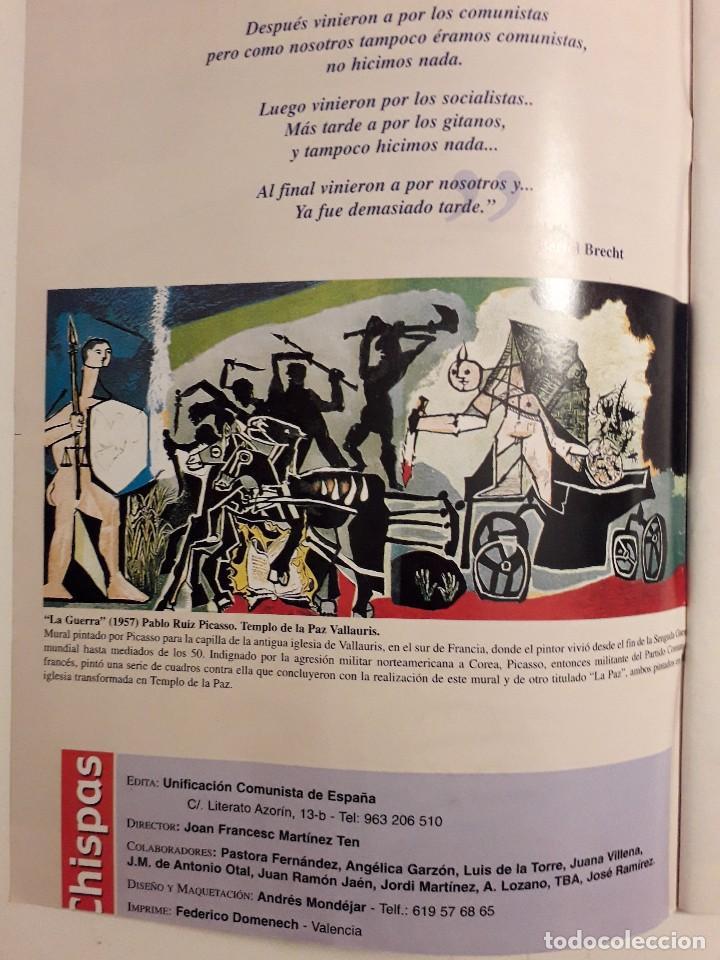 Coleccionismo de Revistas y Periódicos: CISPAS Nº 0 ABRIL 2002.EDITA UNIFICACION COMUNISTA DE ESPAÑA,COMARCA DE EL BESÓS.UMBRAL Y CELA - Foto 2 - 116137843