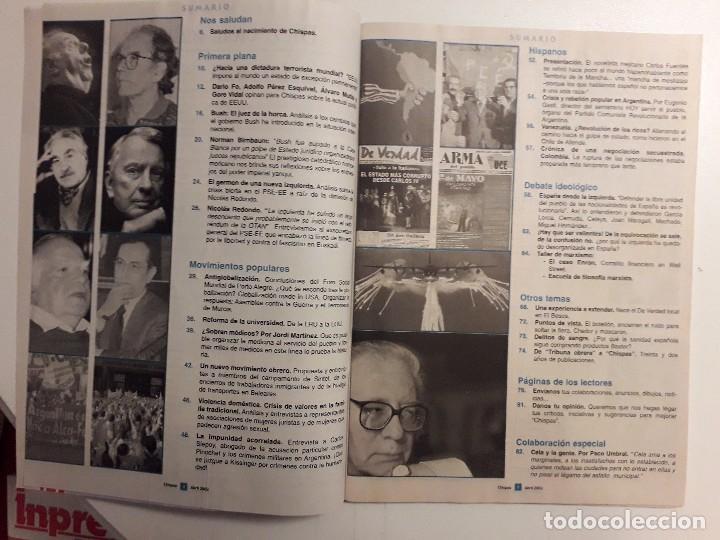 Coleccionismo de Revistas y Periódicos: CISPAS Nº 0 ABRIL 2002.EDITA UNIFICACION COMUNISTA DE ESPAÑA,COMARCA DE EL BESÓS.UMBRAL Y CELA - Foto 3 - 116137843
