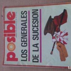 Coleccionismo de Revistas y Periódicos: REVISTA POSIBLE N 26 JULIO 1975. Lote 116182399