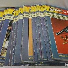 Coleccionismo de Revistas y Periódicos: ARMAS DE FUEGO, LIGERAS, DEPORTIVAS Y MILITARES, 48 REVISTAS. Lote 116198187