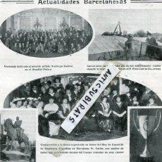 Coleccionismo de Revistas y Periódicos: REVISTA AÑO 1914 AVIADOR GARROS REAL ACADEMIA DE CIENCIAS Y ARTE DE BARCELONA OBSERVATORIO FABRA . Lote 116201015