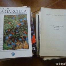 Coleccionismo de Revistas y Periódicos: LA GARCILLA, BOLETIN DE LA SOCIEDAD ESPAÑOLA DE ORNITOLOGIA, ENTRE BOLETINES Y REVISTAS HAY 61 NUMER. Lote 116210903