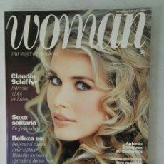 Coleccionismo de Revistas y Periódicos: REVISTA WOMAN N° 1 OCTUBRE 1992 CLAUDIA SCHIFFER EN PERFECTO ESTADO. Lote 190859412